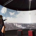 Plymouth University to create a circular 360° cinematic experience